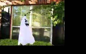 halloween flying ghost decoration youtube