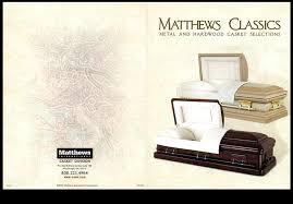 matthews casket company index