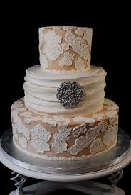 cup a dee cakes blog champagne khaki lace wedding cake