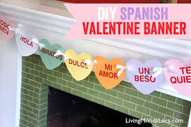 valentines heart candy sayings easy diy s day printable banner free printables