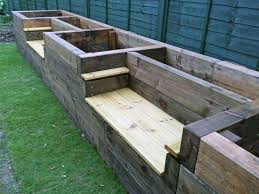 the 25 best planter bench ideas on pinterest cedar bench back