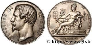 chambre de commerce de marseille second empire médaille de la chambre de commerce de marseille