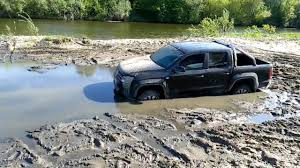 volkswagen amarok off road vw amarok 4x4 hard stuck uaz and tractor trying help youtube