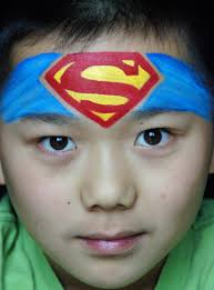 superman face paint google search ntl trans pinterest