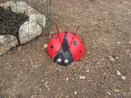 42 best ladybug yard art images on pinterest bowling ball art