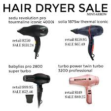 Hair Dryer Best Price hair dryer sale today only mint arrow