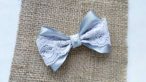 ribbon lace how to create a lace and satin ribbon bow diy crafts tutorial