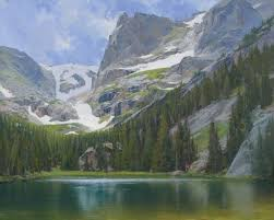 Mountain Landscape Paintings by 173 Best Paintings Mountains Images On Pinterest Landscape