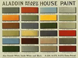 vintage house paint colors historic color palette flickr