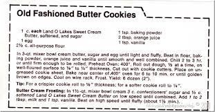 classic butter cookies the mid century menu