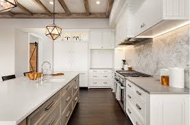 two tone kitchen cabinets and island cabinet refacing and refinishing kitchen bath cabinet