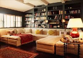 small livingroom black high gloss wood ottoman coffe table cozy living room ideas