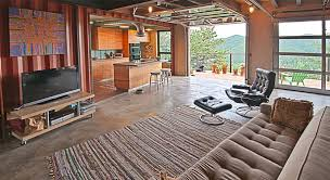 shipping container home interiors colorado modern architect custom sustainable design tomecek