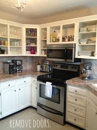 Replacement Doors Kitchen Cabinets Replacing Kitchen Cabinet Doors Before And After I45 All About