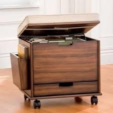 2 Drawer Rolling File Cabinet Mobile File Cabinets Foter