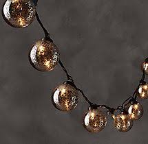 mercury glass string lights mercury glass globe lights mercury glass string lights and mercury