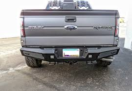 Classic Ford Truck Bumpers - f150 series honeybadger rear bumper w backup sensors off road