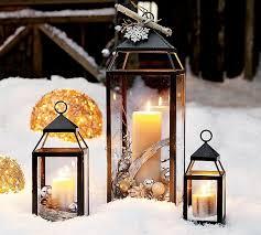 winter lantern decor seasons winter decor