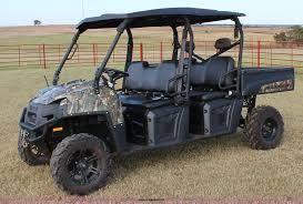 2012 polaris ranger crew utility vehicle item j4304 sold