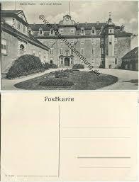 Neues Schloss Baden Baden Historische Ansichtskarten Baden Baden 01