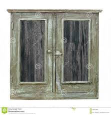 old wood cabinet doors old wood cabinet with doors isolated stock image image of retro