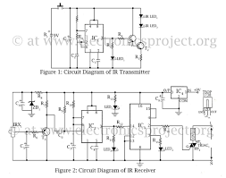 On Off Timer Circuit Diagram Infrared Remote Control Switch U2013 Electronics Project