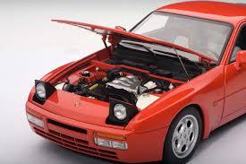 guards red porsche guards red porsche 944 turbo 1985 autoart au77957 scale 1 18 77957