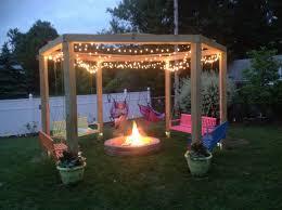 Firepit Swing We Our Pit Swing Gardening Pinterest Swings