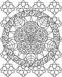 abstract art coloring pages free printable abstract coloring