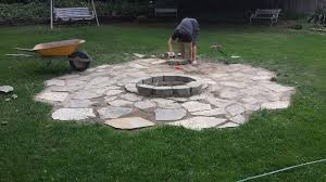 How To Build A Backyard Firepit by Building A Backyard Fire Pit Hometalk