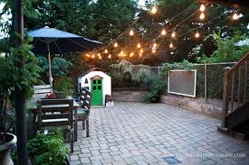 edison string lights outdoor string lights hung limestone