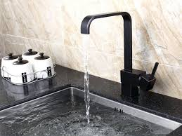 black faucet kitchen kitchen with stainless steel sink and black