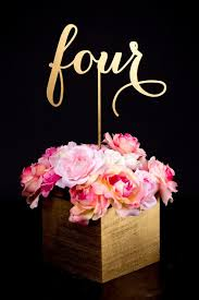 gold wedding table numbers gold wedding set of gold wedding table numbers 2134658 weddbook