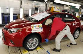 toyota uxs toyota plant puts foreign car makers on path to pass detroit in u s