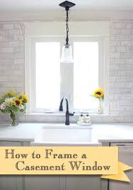 how to add trim to bottom of kitchen cabinets how to install trim and casing moulding on a casement window