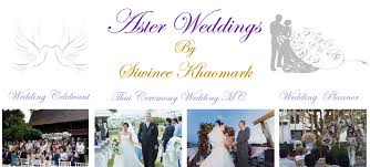 wedding services aster wedding services by siwinee khaomark home