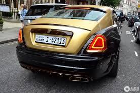 Rolls Royce Mansory Wraith 19 October 2016 Autogespot
