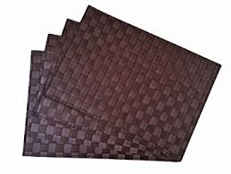 large plastic table mats amazon com place mats washable table mats heat resistant non