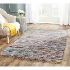 Safavieh Furniture Outlet Store Safavieh Hand Woven Rag Rug Rust Cotton Rug 5 U0027 X 8 U0027 Overstock