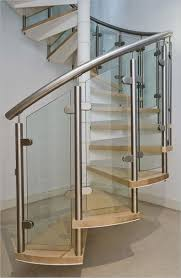 contemporary stair railing image of glass loversiq