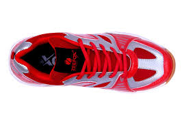 Red Barn Shoes Zeefox Sparx Men U0027s Pu Badminton Shoes Red Free Delivery Buy