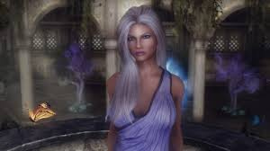 skyrim hair changer hanali fire and ice lunari follower standalone at skyrim nexus