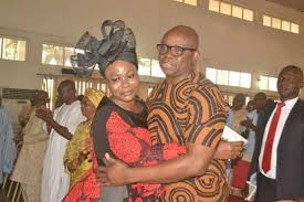 ekiti state governor fayose recently held a thanksgiving service