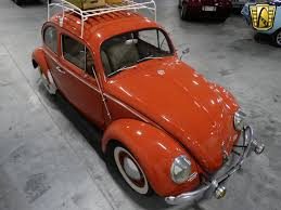 orange volkswagen beetle 1960 volkswagen beetle gateway classic cars 192