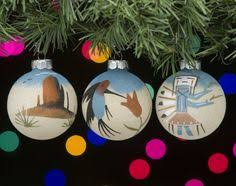 native american christmas ornaments set sand paintings o11