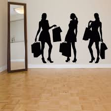 compare prices on lady wall stickers online shopping buy low dctal clothing store decal sexy lady girls glass wall sticker decoration clothing store decal cloakroom showcase