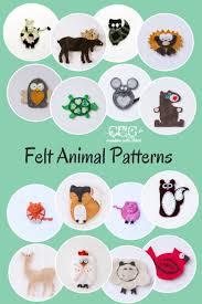 august felt patterns felt animal patterns animal patterns and