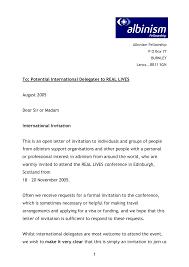 sle letter formal business invitation letter images letter exles ideas