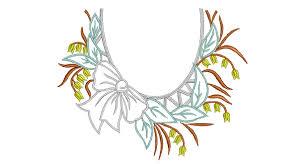 design embroidery neckline embroidery design free embroidery designs
