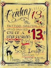 friday the 13th tattoos san go tattoo collections